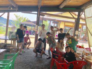 先日未来ある五條の若者を集めて、カルディアキャンプ場でBBQをしました!  そちらの様子を今回ご紹介したいと思います。
